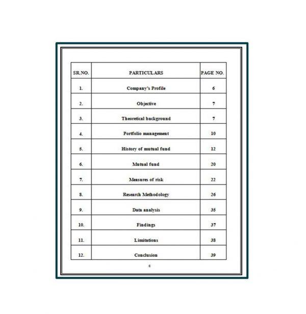 Portfolio Management and Mutual Fund Analysis 2