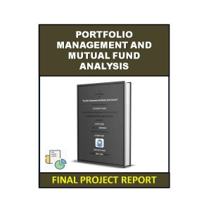 Portfolio Management and Mutual Fund Analysis 3