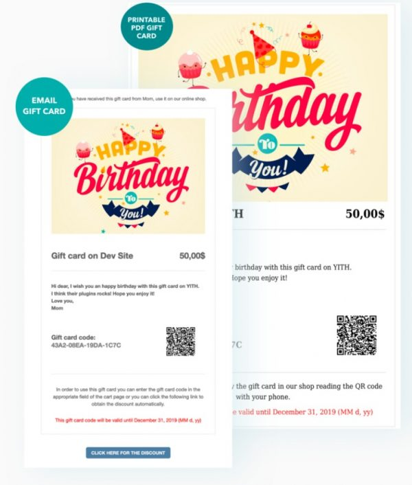 Yith Woocommerce Gift Cards 5