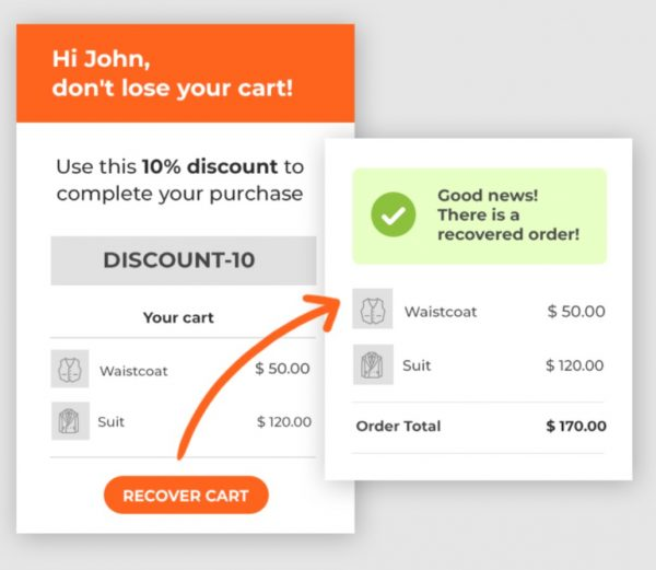 Yith Woocommerce Recover Abandoned Cart 2