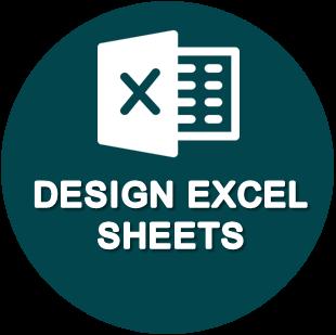 Design Excel Sheets