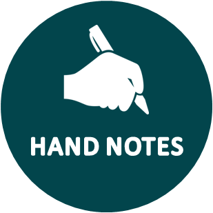 Handnotes main category