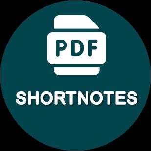 Shortnotes main category